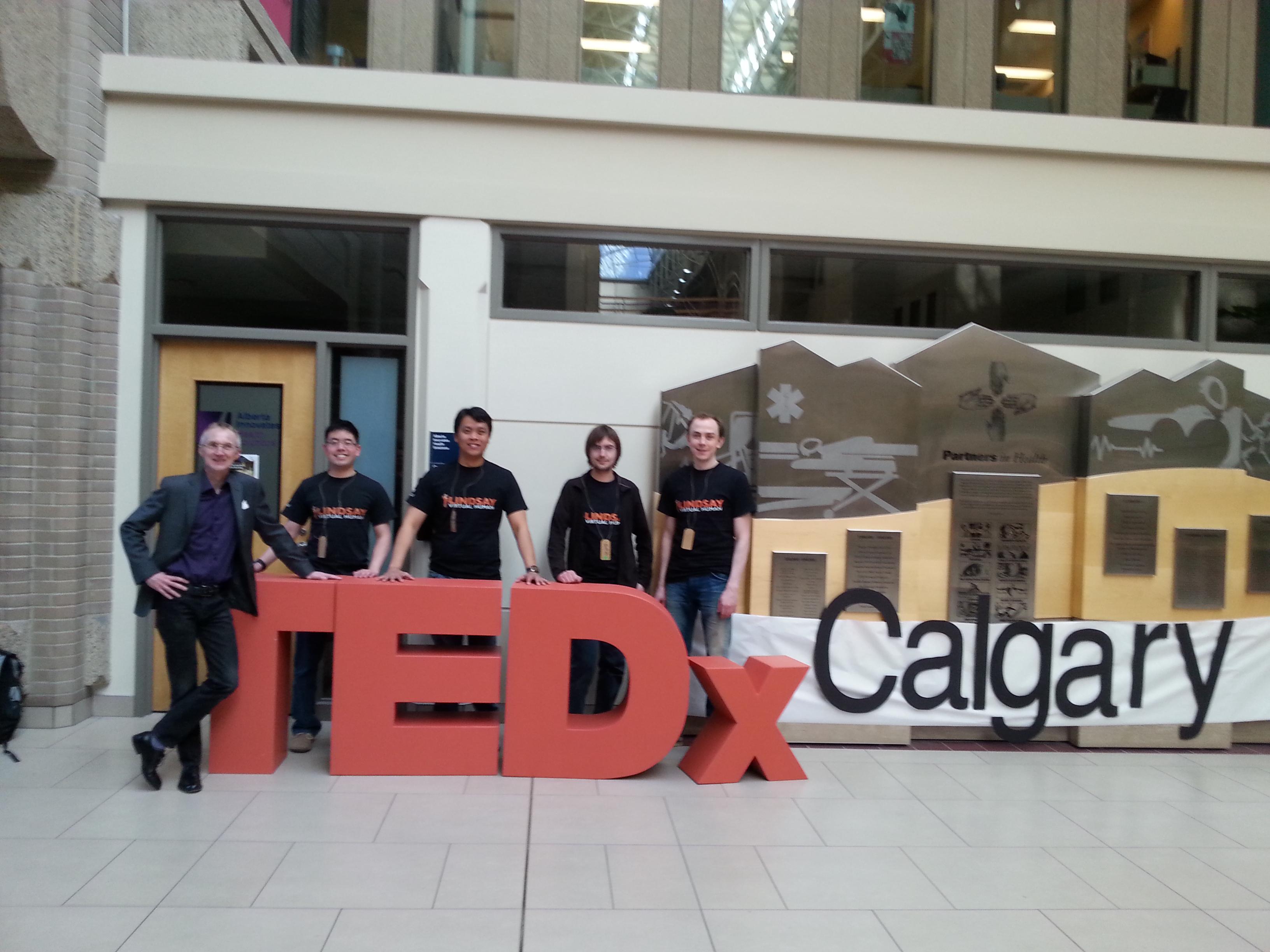 LINDSAY on TEDx Calgary – LINDSAY Virtual Human